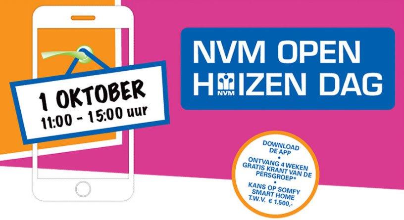 NVM komt met een NVM Open Huizen Dag-app